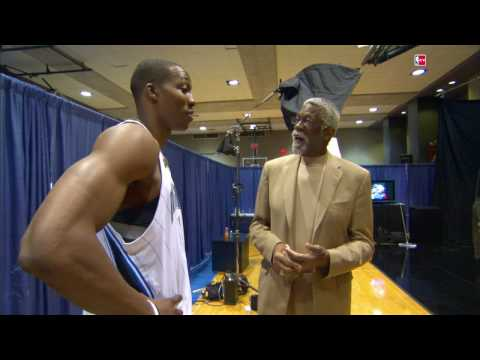 Dwight Howard wishes Bill Russell a Happy Birthday