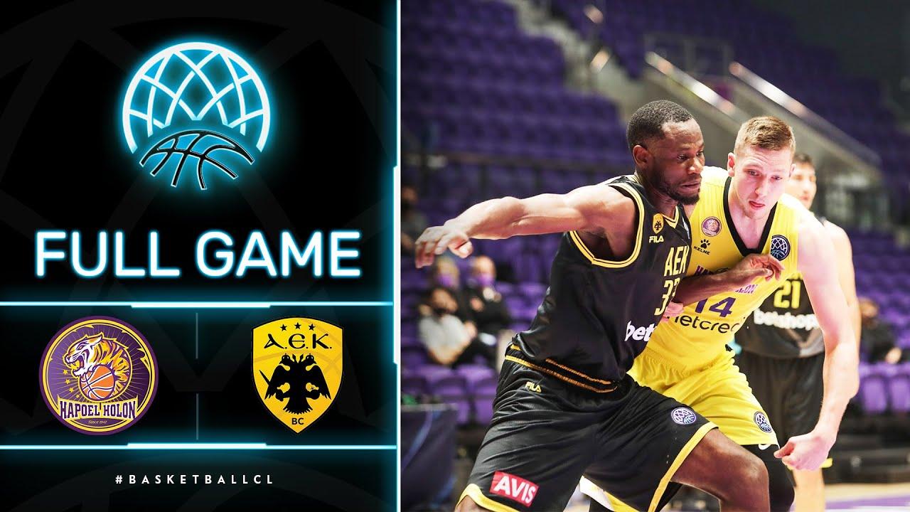 Hapoel Unet-Credit Holon v AEK - Full Game