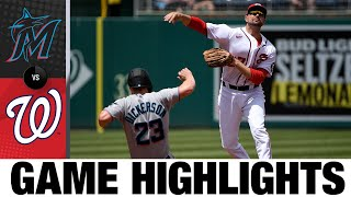 Marlins vs. Nationals Game Highlights (5/2/21)   MLB Highlights