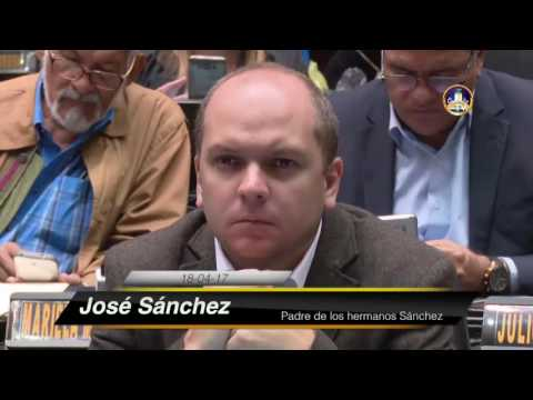 José Sánchez 18 04 17