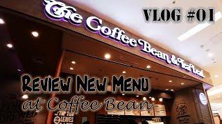 Testing New Menu at The Coffee Bean & Tea Leaf | VLOG #01