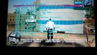 GTA Vice City Stories Cheat Device Demonstration Part 6