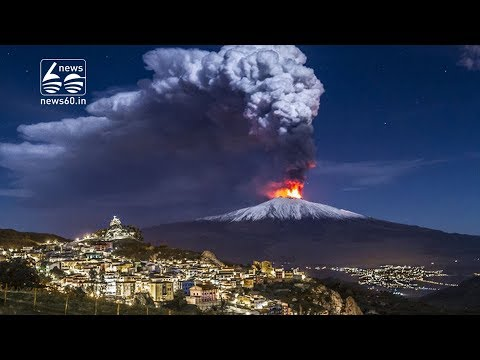Controversial Study Compares Mount Etna To A Gigantic Hot Spring