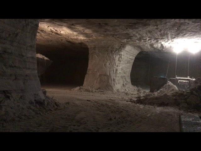 In Cargills Vast Cleveland Mine Workers Scoop Up Salt Beneath