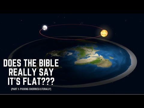 Flat Earth...Does the Bible Really Say That??? (Part 1 - Picking Cherries Literally) thumbnail