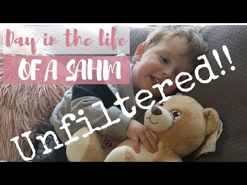 DAY IN THE LIFE OF A STAY AT HOME MOM WITH A TODDLER UNFILTERED | THIS IS REAL LIFE!!