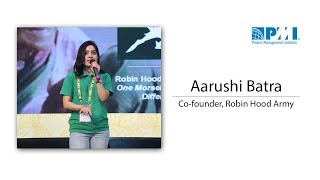 Robin Hood Army - Making a difference – A Morsel at a Time : Aarushi Batra
