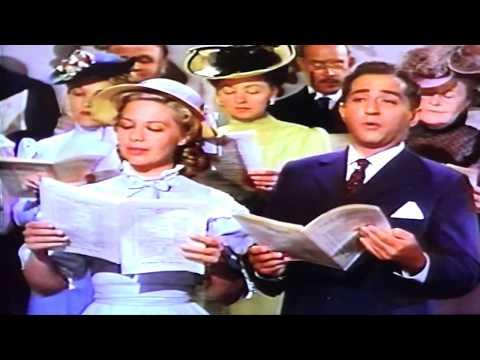"Robert Merrill & Dinah Shore sing ""Still Waters"" from  Aaron Slick from Punkin Crick   1952"