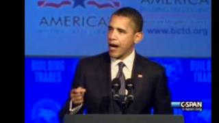 "Obama Attacks ""Right to Work Laws"" While Speaking to the AFL CIO Conference"