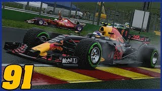 SLIPPING SLIDING AND SEARCHING FOR A WIN AT SPA |12/20| F1 2017 Career Mode Season 5