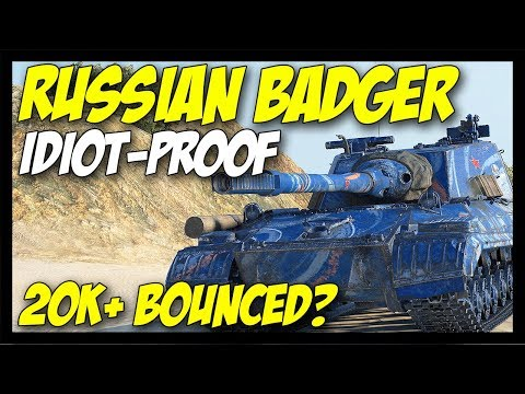 ► Idiot-Proof Russian Badger - World of Tanks Object 268 Version 4 Gameplay