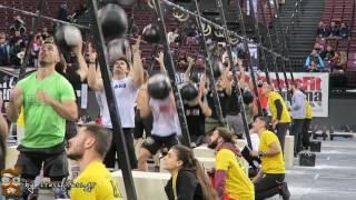 The Greek Throwdown 2017|WOD1 Elite Men