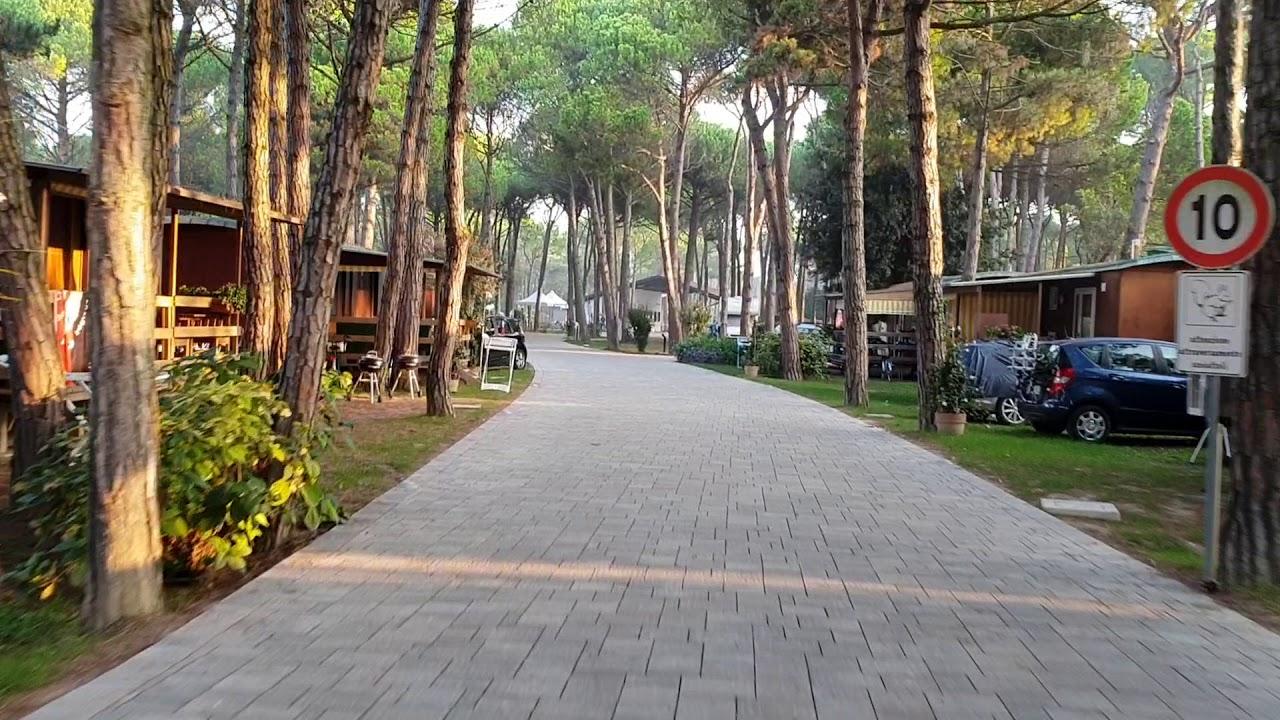Il Tridente Camping Bibione Pineda - YouTube