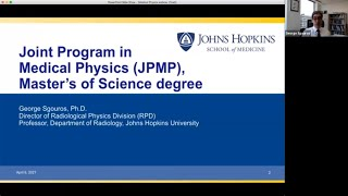 Johns Hopkins Master of Science in Medical Physics Webinar