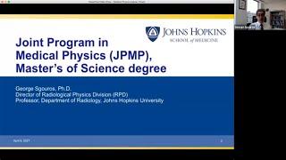Johns Hopkins Master of Science in Medical Physics Webinar