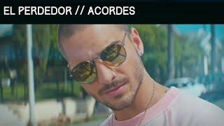 El Perdedor ACORDES | Cómo tocar El Perdedor-Maluma  |Tutorial