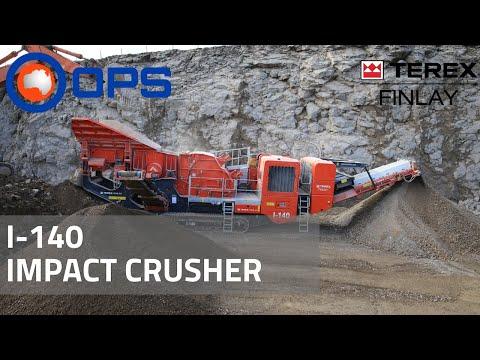 Terex Finlay I-140 Impact Crusher | OPS Screening & Crushing