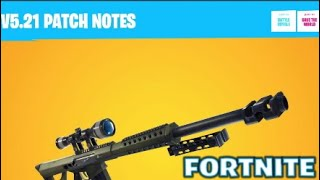 "FORTNITE:""V5.21 PATCH NOTES!"""