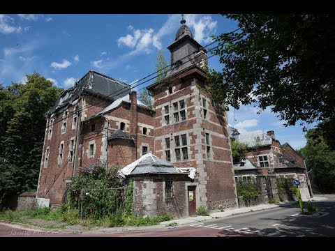 Abandoned Castle in Belgium (found way inside!!) Urban Exploration