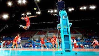 【バレーボール】狂ってる!クレイジーすぎるプレイ集!!【衝撃】It's crazy!【volleyball】 thumbnail