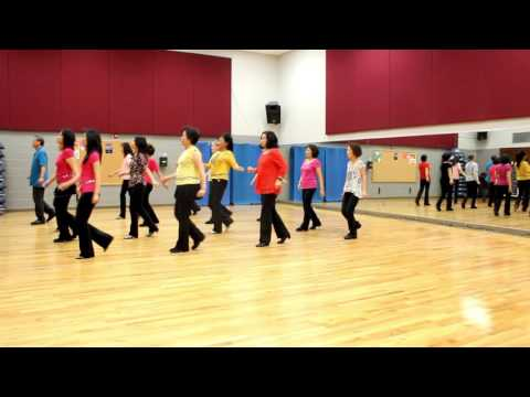 Big Blue Tree - Line Dance (Dance & Teach in English & 中文)