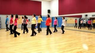 Big Blue Tree - Line Dance (Dance & Teach in English & 中文)