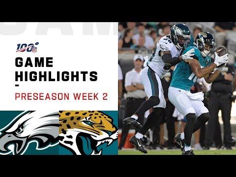 Eagles vs. Jaguars Preseason Week 2 Highlights   NFL 2019
