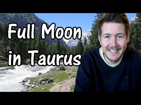 Full Moon in Taurus 12 November 2019 | Gregory Scott Astrology