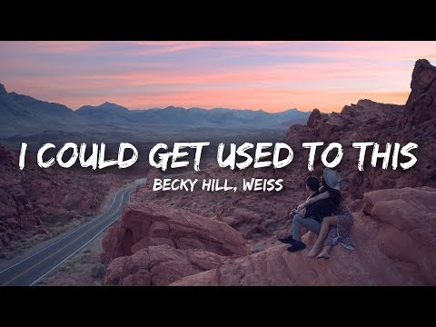 Becky Hill WEISS - I Could Get Used To This
