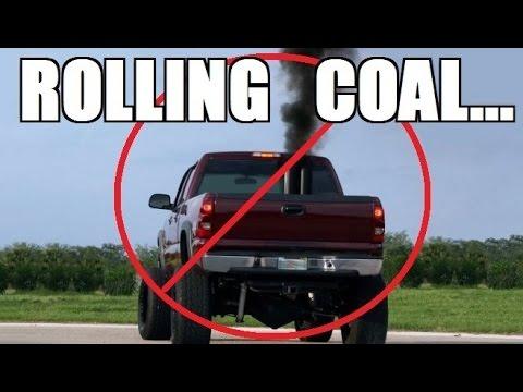 Jetta rolling coal