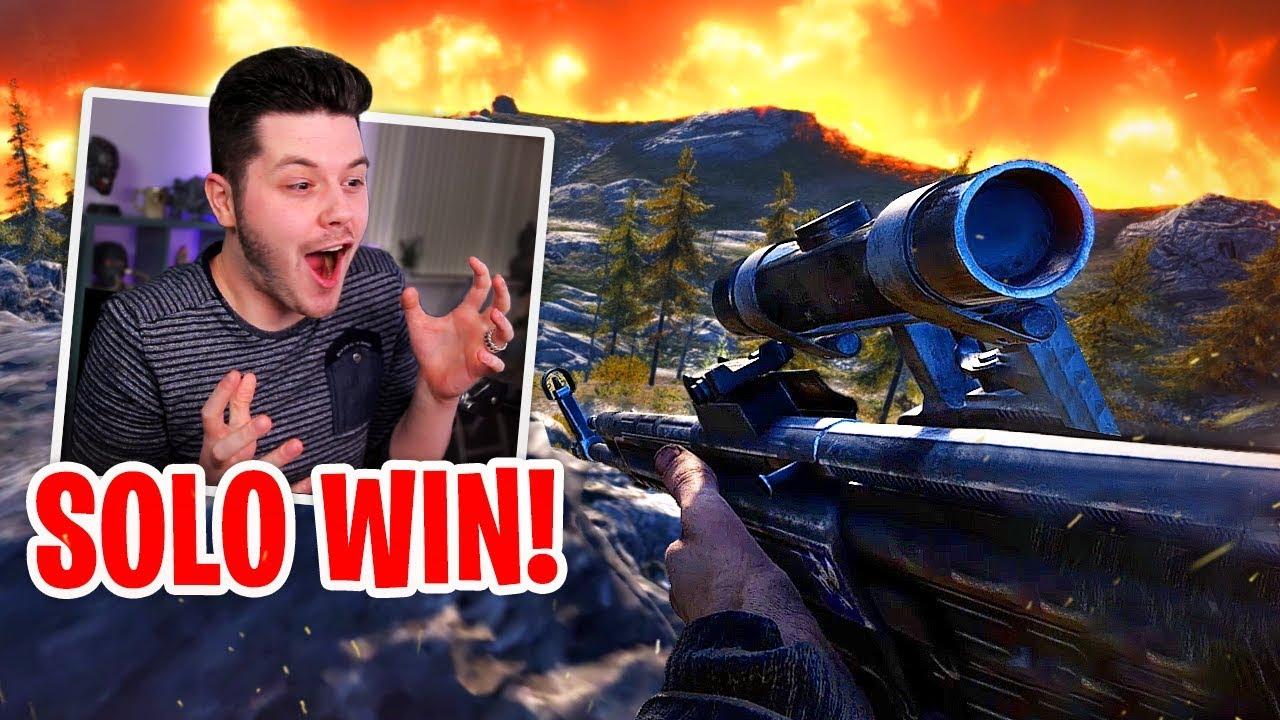 SOLO VICTORY ROYALE! - Battlefield 5 Battle Royale (Firestorm)