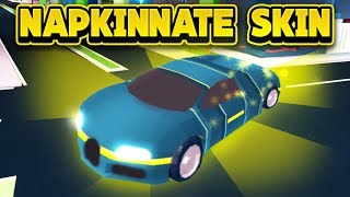 NEW NAPKINNATE SKIN COMING TO JAILBREAK! (ROBLOX Jailbreak)