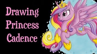 Drawing MLP - Princess Cadence, a second time