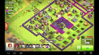 Clash of Clans, Attacking Ghost Village (More loot and trophy)