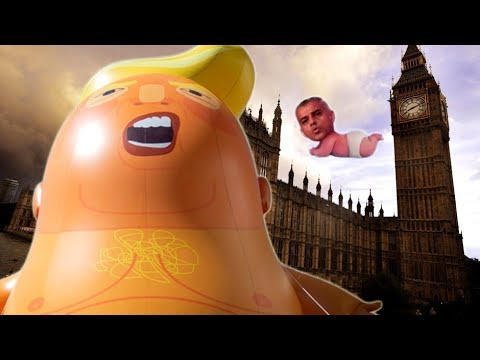 The Trump Baby Balloon