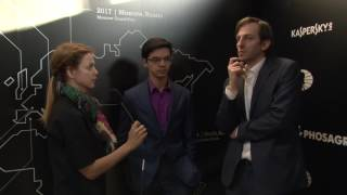 Day 9 Interview with GM Anish Giri and GM Alexander Grischuk