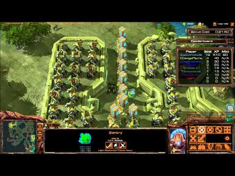 Starcraft 2-Island Defence Sentry(Defensive)