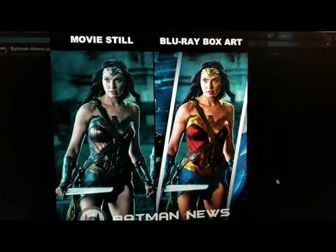 Justice League Blu-ray Box Brightens Up the Costumes