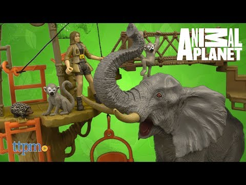 Animal Planet Safari Treehouse Playset From Toys R Us