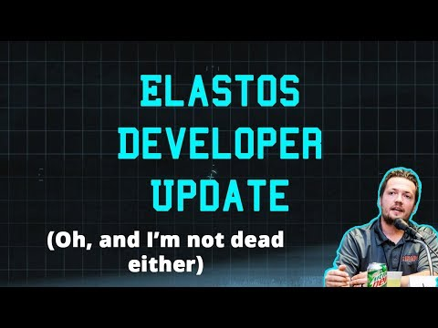Elastos DX Update - Jimmy Lipham isn't dead edition