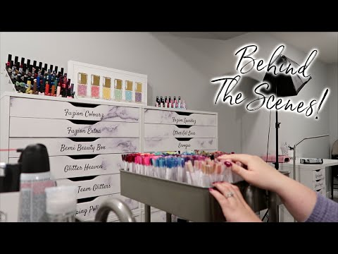 Behind The Scenes In The Nail Studio | Day In The Life Of A Work At Home Mom
