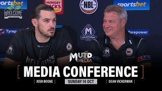 Rd 6: Melb Utd vs. Brisbane Bullets - Post-Match Media Conference