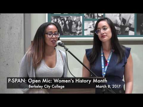 P-SPAN #562: Women's History Month at Berkeley City College