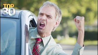 The Most Common Forms Of Road Rage