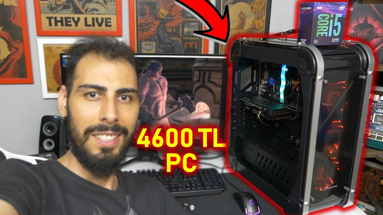 4600 TL Ryzen Rakibi Oyun Bilgisayarı! Her Oyunda Akan i5 9400F Sistem Toplama (EbrarPC)
