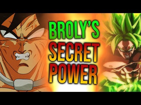 Why is Broly SO STRONG in Dragon Ball Super Broly?