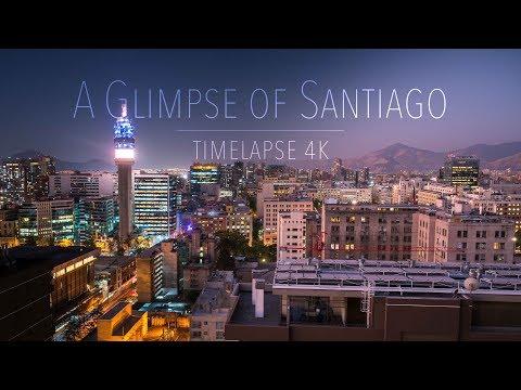 A Glimpse of Santiago De Chile | TimeLapse - 4K