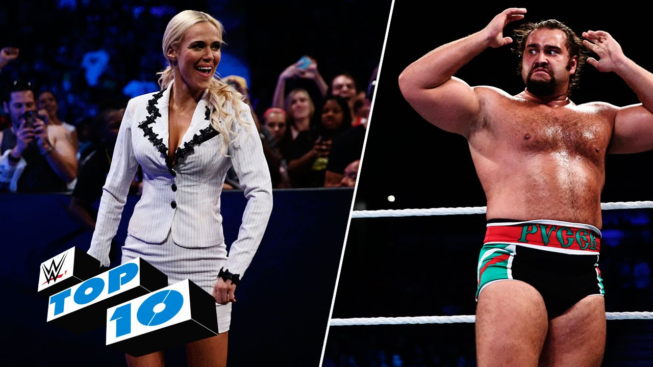 Top 10 SmackDown moments: WWE Top 10, August 6, 2015 #1