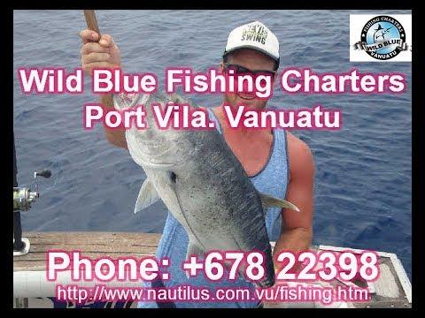 Vanuatu Port Vila Fishing Charter PH:+678 22398