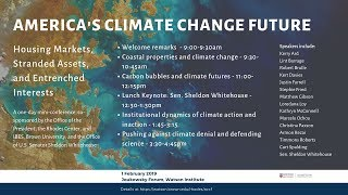 Baixar America's Climate Change Future – Session 1: Coastal properties and climate change